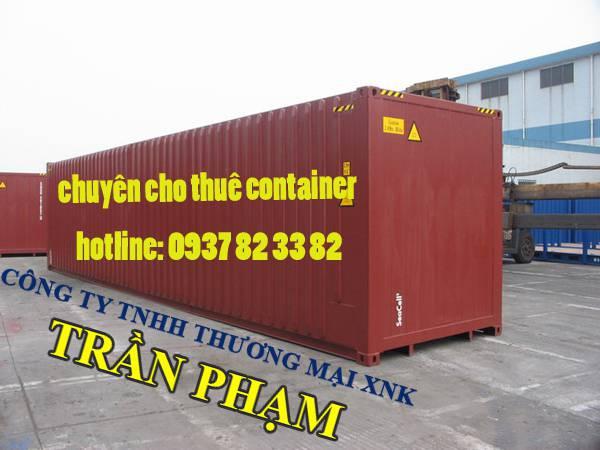 Cho thuê và bán container giá rẻ tại Bình Dương