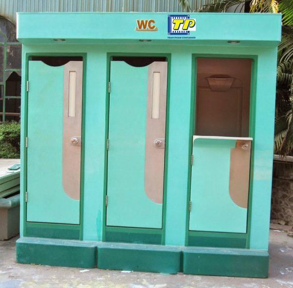 Container nhà vệ sinh di động được ứng dụng rộng rãi