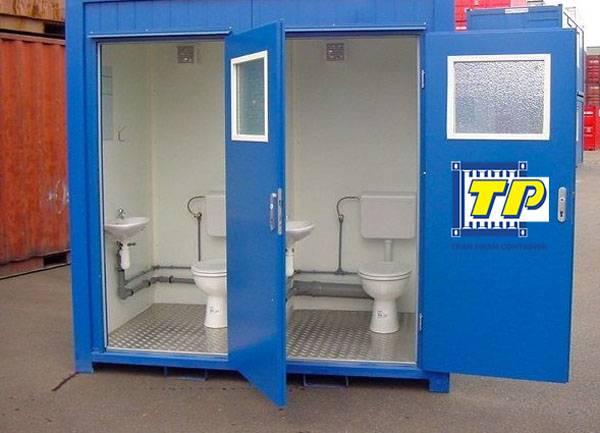 Nhà vệ sinh container có đầy đủ tiện nghi như một nhà vệ sinh cố định
