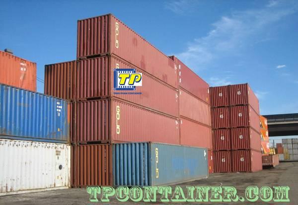 Sản phẩm container cũ và mới rất đa dạng trên thị trường