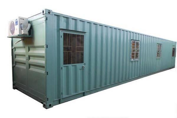 báo giá thuê container văn phòng 40 feet