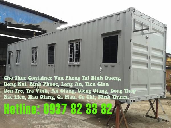 Vận chuyển tận nơi cho dịch vụ cho thuê container văn phòng