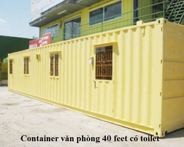 cho thuê container Long An