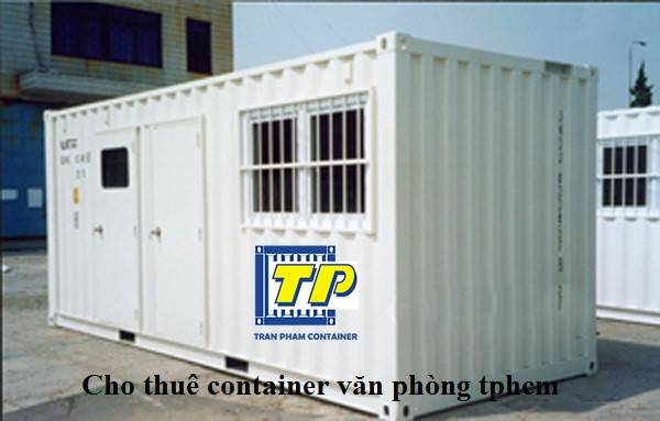 cho thuê container văn phòng tại tphcm