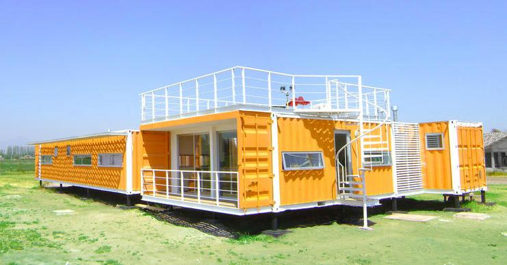 container làm nhà ở