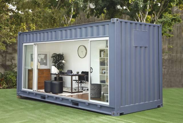 container văn phòng sang chảnh