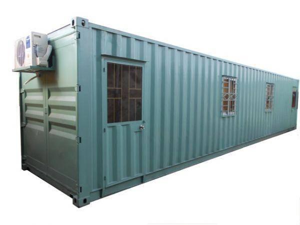container dễ dàng gắn điều hòa
