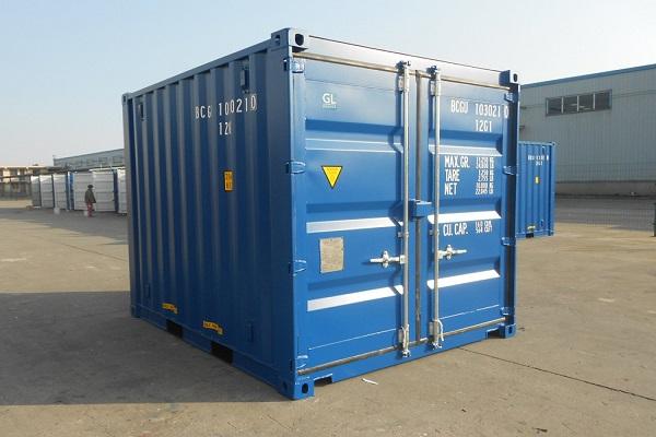 Các kích thước của thùng container 10 feet