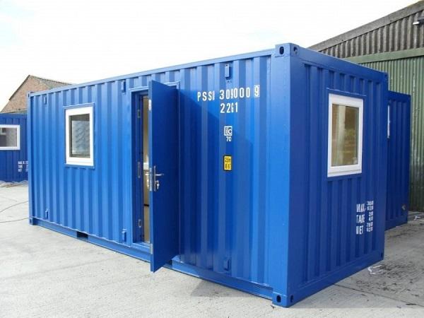 Container văn phòng 20 feet sang trọng, lịch sự