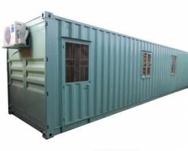 container văn phòng hiện đại của Trân Phạm