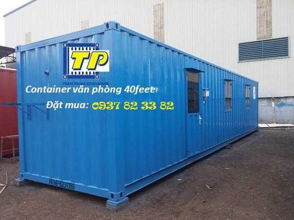 Trần Phạm - nhận thiết kế và thi công container văn phòng