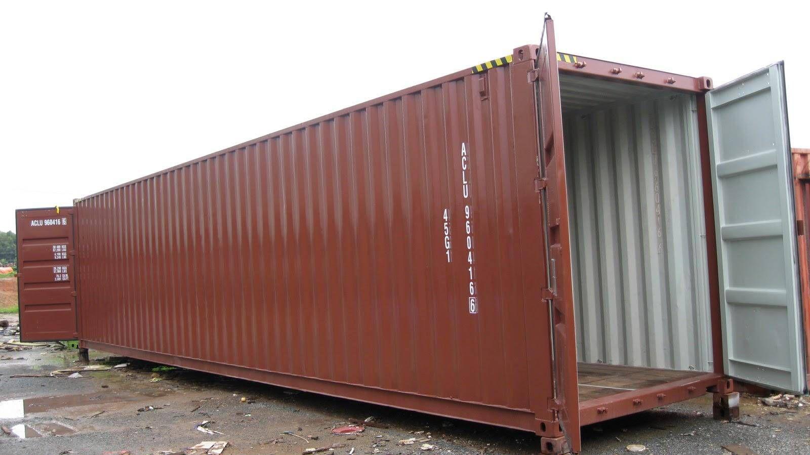 container 40 feet đầy đủ tiện nghi