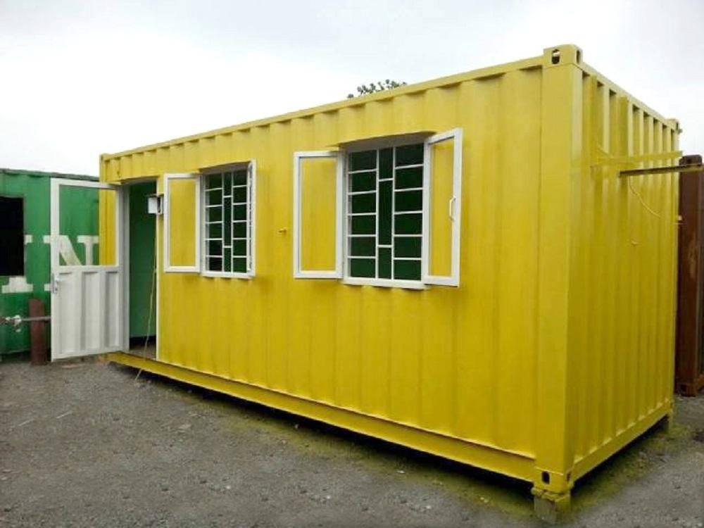 container văn phòng mộc mạc