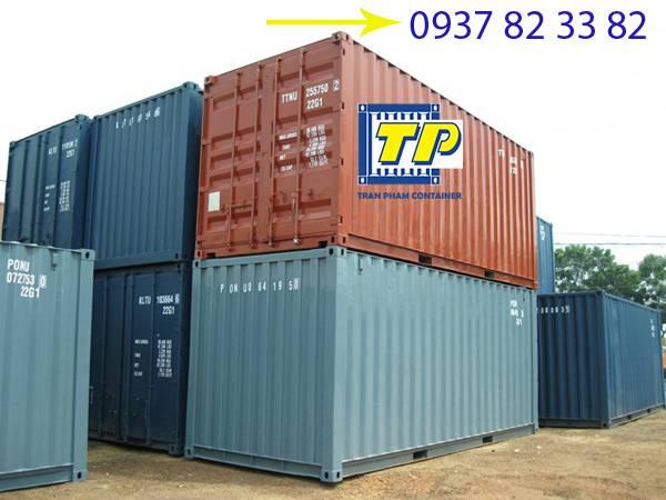 Thùng container trong vận chuyển và lưu trữ