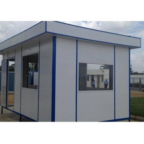 Container văn phòng di động màu trắng