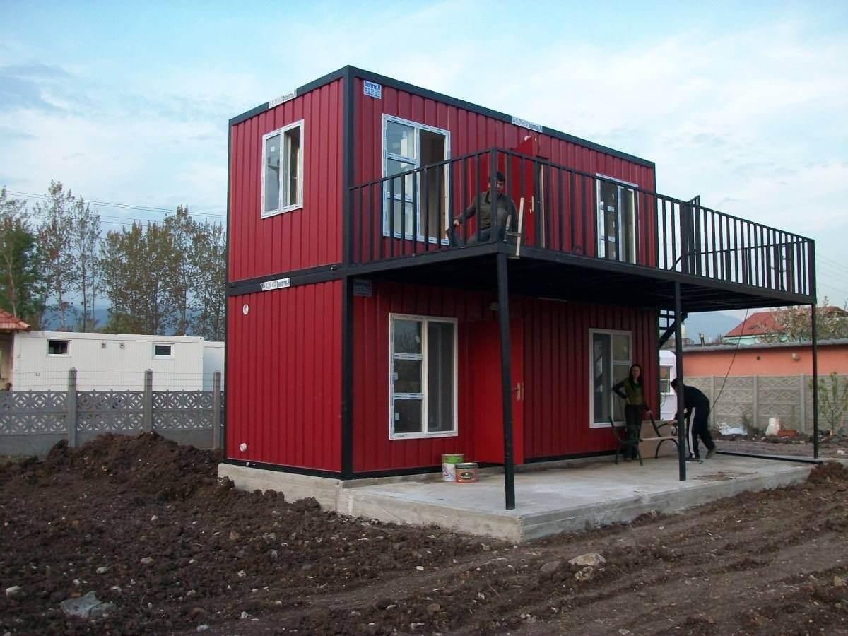 container di động làm nhà ở