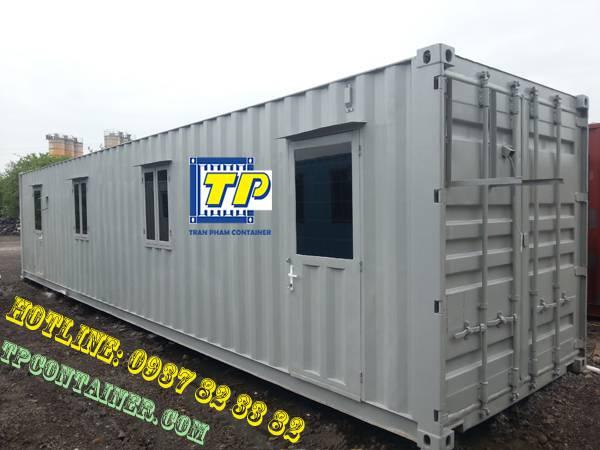Trần Phạm chuyên thanh lý container văn phòng chất lượng